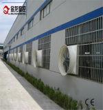 壁に取り付けられた1480mmのガラス繊維のファン