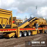 Granite (WL3S1848C100)のためのWL Stone Mobile Cone Crusher Crushing Plant