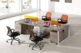 질에 의하여 박판으로 만들어지는 금속 및 나무로 되는 사무실 워크 스테이션 (HY-NNH-Z09)
