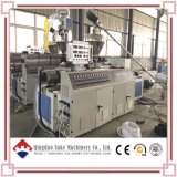 WPC hölzernes Plastikprofil, das Maschinen-Extruder herstellt