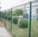 Fence/3Dを曲げる三角形は溶接された金網のパネルの塀を曲げた