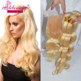 Erstklassige Qualitätsherrliches peruanisches Ombre Haar