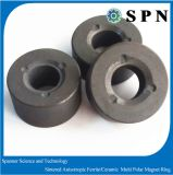Ferrita dura/anillos de cerámica del imán de Pemanent con el proceso de Sinetered para la lavadora del plato