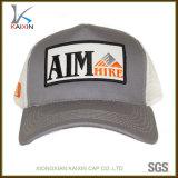 Promoción de la mitad de algodón bordado del logotipo de parches de malla camionero Hat