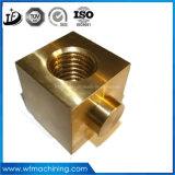 Kundenspezifisches Messingpräzision CNC-Drehbank-Metall, welches die maschinelle Bearbeitung im nicht Eisenmetall aufbereitet