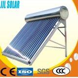 Calentador de agua solar de energía solar del tubo de vacío del colector solar del sistema de calefacción del calentador de agua caliente del acero inoxidable de la presión no presurizada/inferior