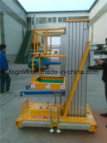 os 10m escolhem o elevador vertical hidráulico da plataforma da plataforma de alumínio do elevador do homem do elevador do mastro