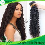 Trama profonda dei capelli umani di Remy dell'onda dei capelli del Virgin dell'indiano di 100%