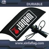 Drapeau de plumes de haute qualité / drapeau extérieur / drapeau du stand d'affichage