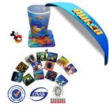Personnalisé Coaster lenticulaire 3D Cup EVA