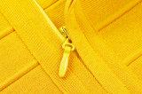 Vestito profondo Hip dal collo del randello di notte del pacchetto di Bodycon della fuori-Spalla V