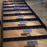 卓球PVCはフロアーリングの表面2018の熱い販売を遊ばす