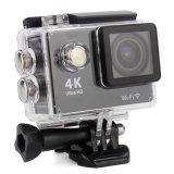 HD 4k Sport Camera Câmera de ação de controle remoto de 170 graus