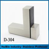 304 316ステンレス鋼のブロック調節可能な木またはガラスのハングのたな受けブラケット