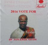 un T-shirt bon marché des prix de Doolar pour la promotion et l'élection