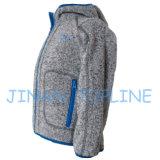 Детский Полный молния Hoody Руна Большой карманный пиджак