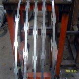 電流を通されたかみそりの刃の有刺鉄線(BTO-12、BTO18、BTO-22)