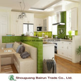 台所家具のメラミンChipboardの食器棚
