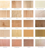 3.6/6/12/15m m madera contrachapada del roble del grado de los muebles de la madera contrachapada de la chapa del roble blanco/rojo de B2