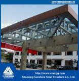 Estructura de acero del solo braguero del palmo para la ingeniería de la decoración