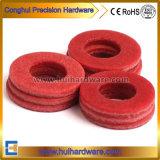 Rondella rossa della fibra per il montaggio di Mater dell'acqua