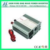300W C.C photovoltaïque à haute fréquence 24V à l'inverseur d'onde sinusoïdale à C.A. 220V (QW-P300)