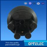 Fibra óptica de cierre de empalme 3inlets y 3 Outlet óptica