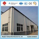 Almacén ligero prefabricado galvanizado de la estructura del marco de acero