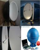 Caja del probador del lumen de la esfera LED del lumen de Porable - espectrofotómetro