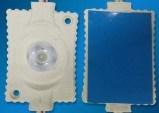 Contraluz con los módulos de aluminio del sistema de enfriamiento de la placa LED