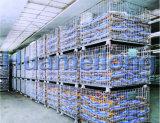 Zusammenklappbarer fabrizierter Maschendraht Containerr verwendet für Speicherung