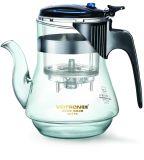 Teapot высокого бпч стекла с фильтром (KS775).