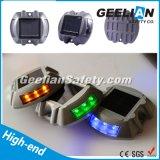 Reflectantes Road clavos con 6 LEDs Panel Solar Mono Cristalina