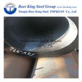 Tuyau en acier au carbone sans soudure DIN1629 ST52 pour l'application de la machinerie