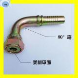 24291 Montage van de Slang van de Verbinding van Orfs van 90 Graden Vrouwelijke Vlakke Hydraulische