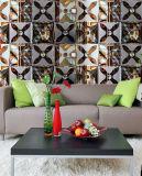 3D 배경 벽 유리제 패턴 예술 Tempered 건물 페인트 장식 유리제 단지 문 Windows 예술