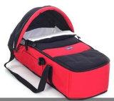 赤ん坊の折るベッドの快適な携帯用実用的なFoldable Deformationbabyのベビーカーのバスケットのサポートの日よけの版は折畳み式ベッドを運ぶ
