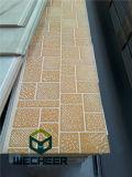 Панель сандвича стены толщины доказательства пожара 16mm для украшения и термоизоляции