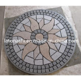 Outdoor Landscape、Flooring、Pathwayのための花こう岩Flamed Paving Patterns Stone