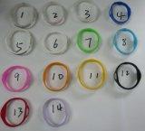 L'ion d'alimentation Bracelet en Silicone Bracelets Bracelet Sport pour l'équilibre (P0420)
