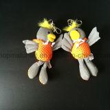 Nettes gelbes angefülltes Ente-reflektierendes Sicherheits-Spielzeug für Kind-Geschenk