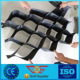 De textura suave plástico HDPE Geocell perforada