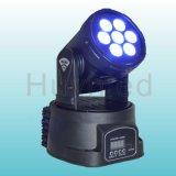 卸し業者小型LED 7*8W LEDの移動頭部DJ装置