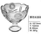 Personalizar el helado caliente tazón de vidrio con buen precio Sdy-F00441