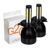 2017 할로겐과 유사한 자동차 부속을%s 가장 새로운 G20 L6 G5 G6 G20 LED 가벼운 램프 Hi/Lo 광속 LED 백색 반점 빛