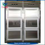 6개의 바디 매장 냉장고 병원 시체 냉장고