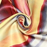 Схема настройки печати, скрученная пряжа, Атласная ткань
