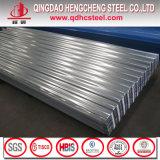 Feuille en acier de toit galvanisée par métal de Gi d'ASTM A653m Dx51d
