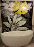 Mosaïque de conception d'arrière-plan, mosaïque de mosaïque de motif en art de verre (HMP639)