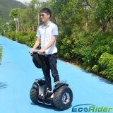 Le transport urbain auto Scooter électrique d'équilibrage, 2 roues chariot électrique pour des trottoirs